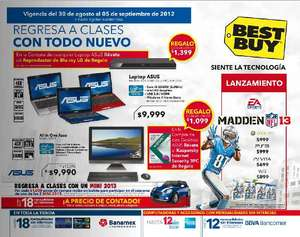 Folleto Best Buy agosto 30: Blu-ray LG a $1,095, descuentos en cámaras, Microsoft Office y más