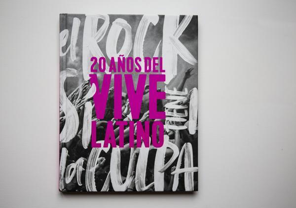 Ticketmaster Shop: Libro 20 aniversario del Vive Latino.