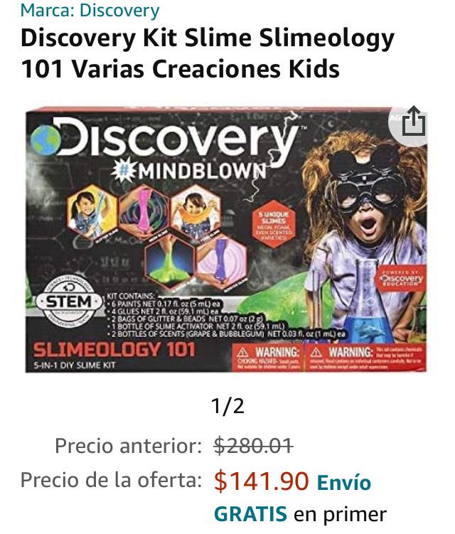 Amazon: Slimeology 101 Discovery
