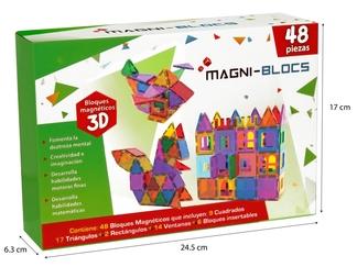 SUBURBIA Set de Bloques Magnéticos 3D Magni-Blocs Castillo Mágico