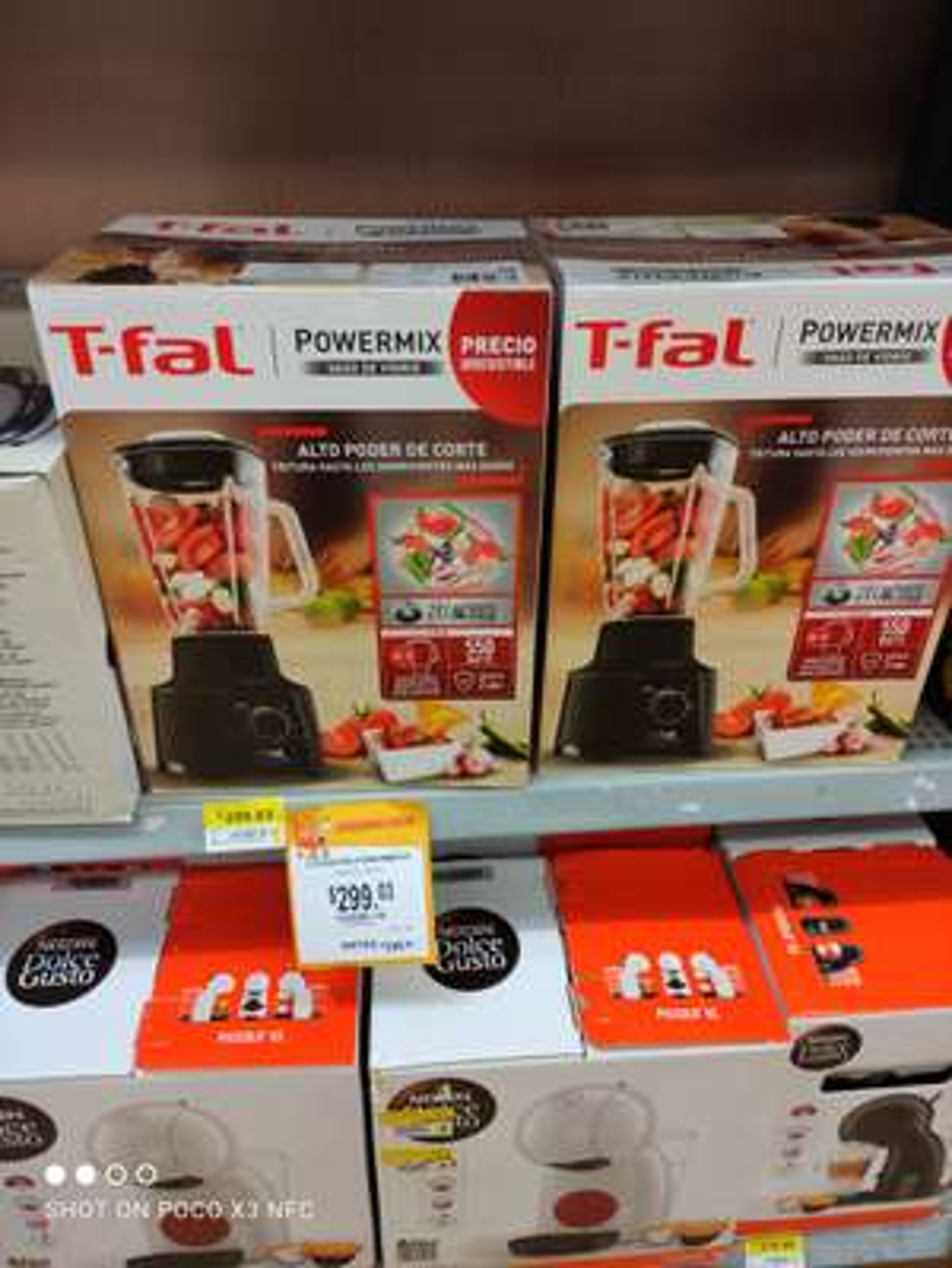 Walmart Tuxtla Gutiérrez Chiapas licuadora T-Fal+ bolsa de regalo
