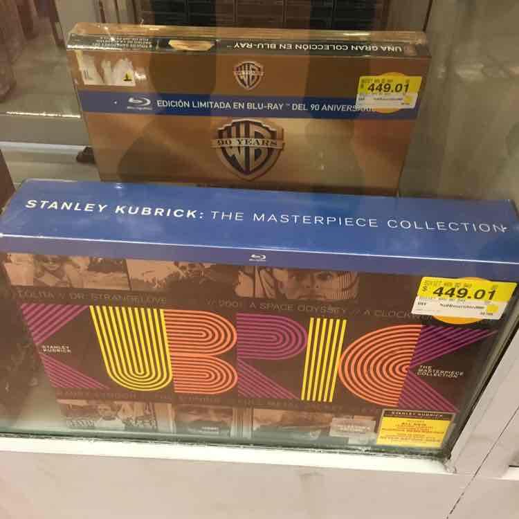 Walmart: Colecciones Blu-Ray Warner Bros y Stanley Kubrick