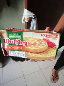 Chedraui: Paquete de Waffles Springfield Homestyle