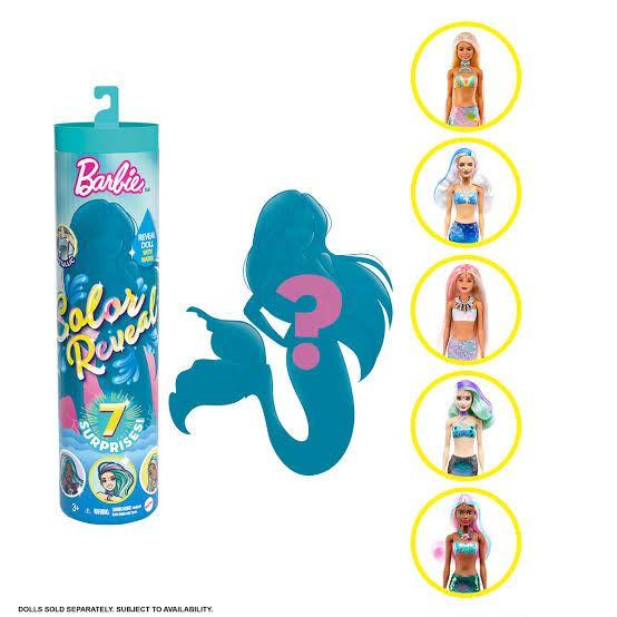 Suburbia: Barbie color reveal- wave sirenas