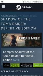 Steam: Shadow of the Tomb Raider: Definitive