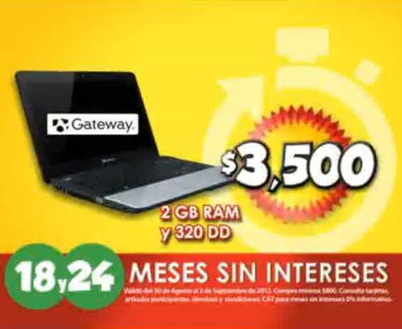 """Las Horas Contadas en Bodega Aurrerá: pantalla LCD 46"""" $5,999, laptop Gateway a $3,500 y más (actualizado)"""