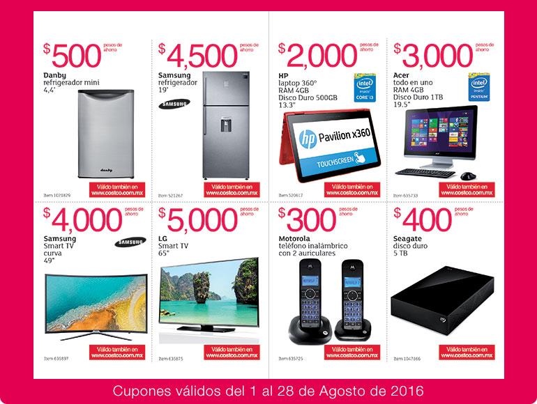Costco: folleto de ofertas del 1 al 28 de agosto