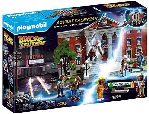 Amazon Playmobil Back to Future Advent Calendar