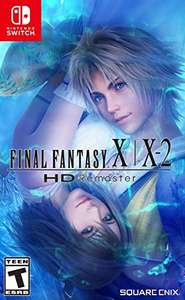 Amazon final fantasy X-X2 remaster Nintendo switch