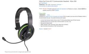 Amazon: Headset Xbox Ear Force XC1 para Xbox 360 en $130