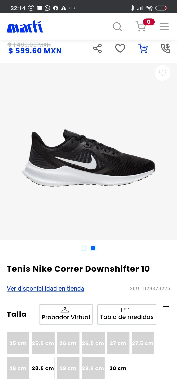 Marti: Tenis para correr Nike Downshifter 10