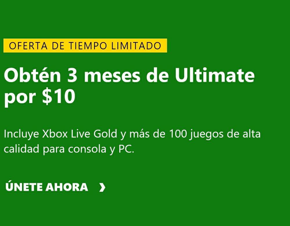 Felices fiestas 3 meses de Xbox Game Pass ultimate