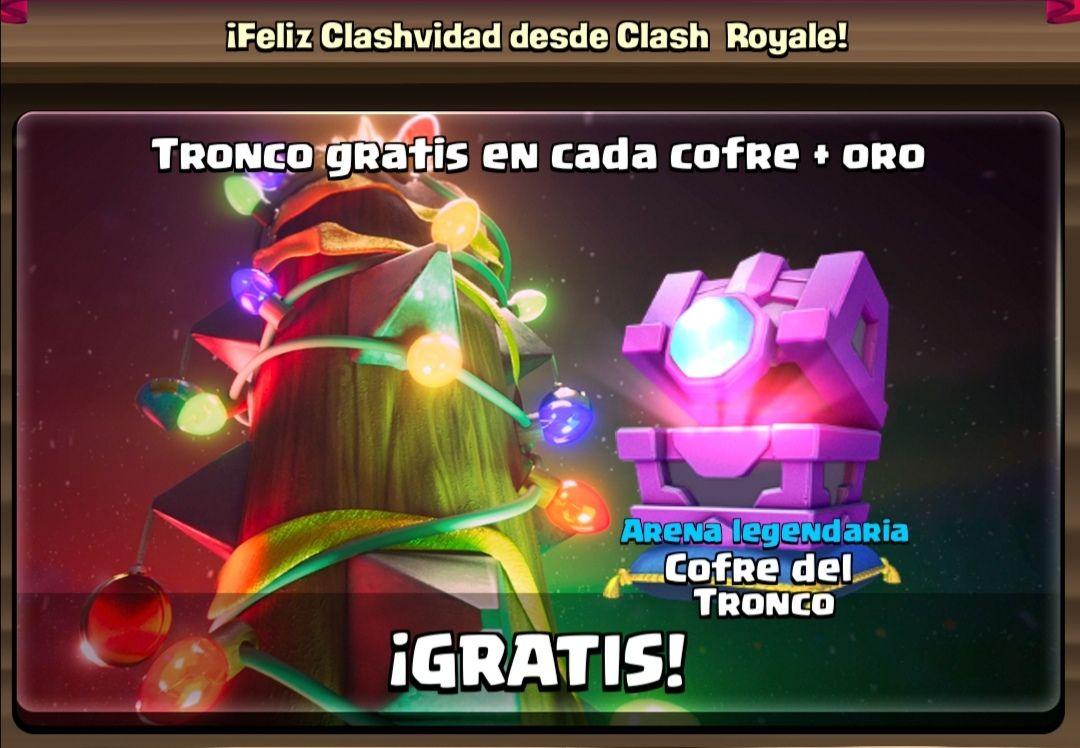 Clash Royale: Cofre del Tronco Gratis!