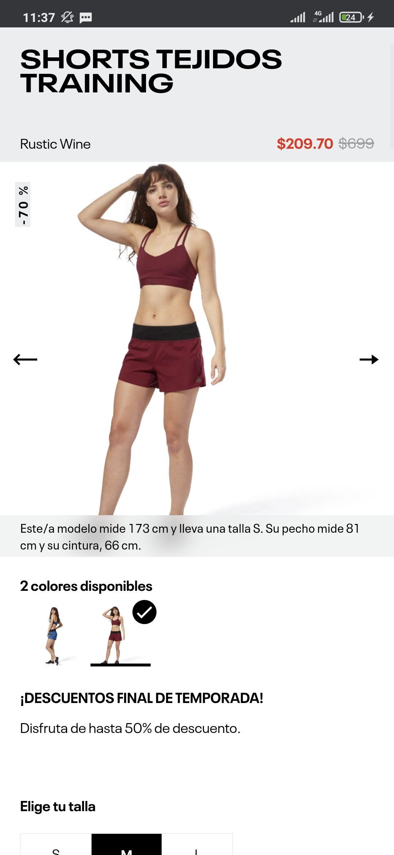 Reebok: Shorts tejidos Training