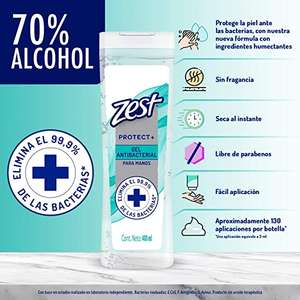 Amazon: Zest Gel Antibacterial 400ML