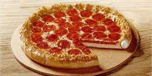 Pizza Hut: Hut Cheese mediana 4 ing. a $99