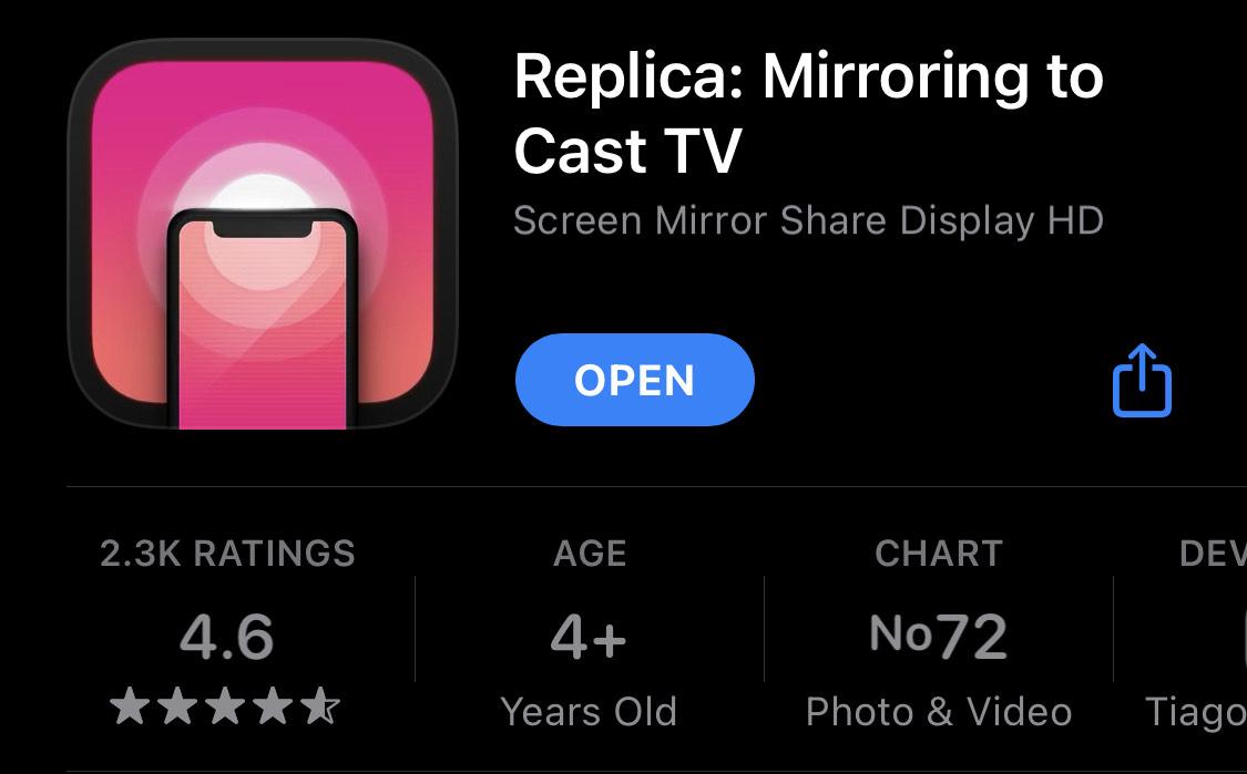 App Store: Replica de por vida Gratis (comparte audio y/o video a tus dispositivos)