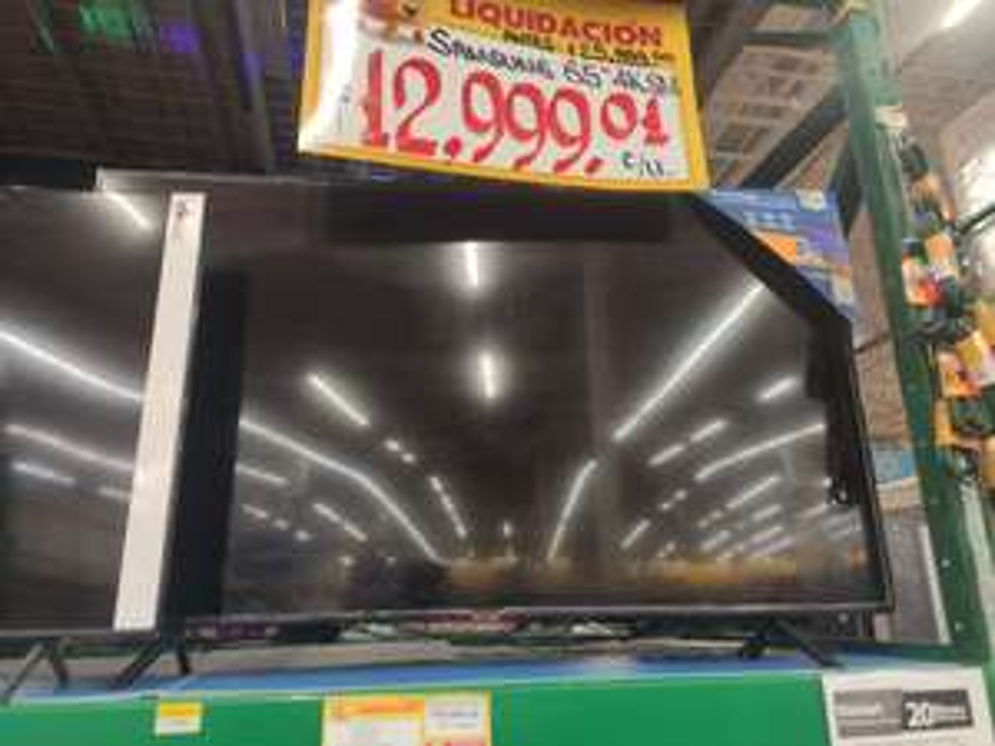 "Walmart: Pantalla Samsung 65"" 4K"