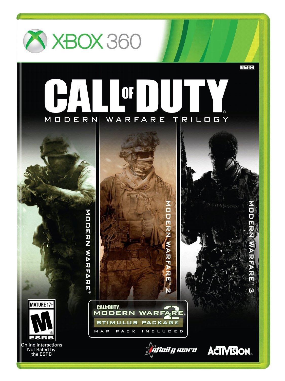 Amazon: Call of Duty Modern Warfare Collection para Xbox 360