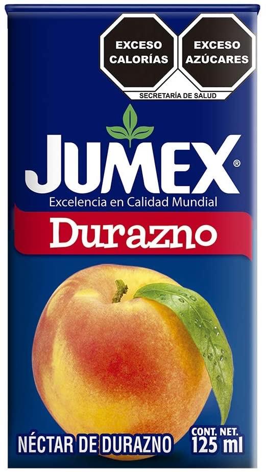 Amazon: Jumex Néctar de Durazno - 125 ml
