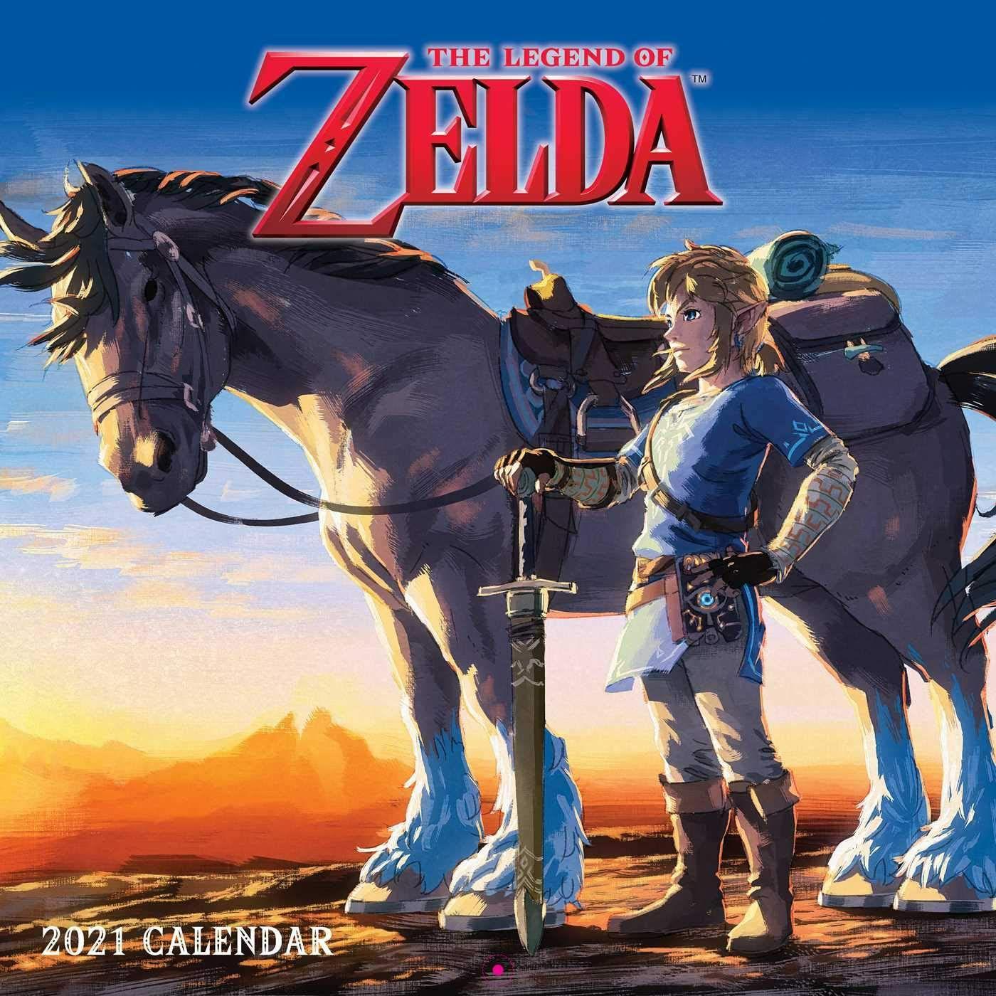 Amazon: Calendario The Legend of Zelda Breath of the Wild 2021