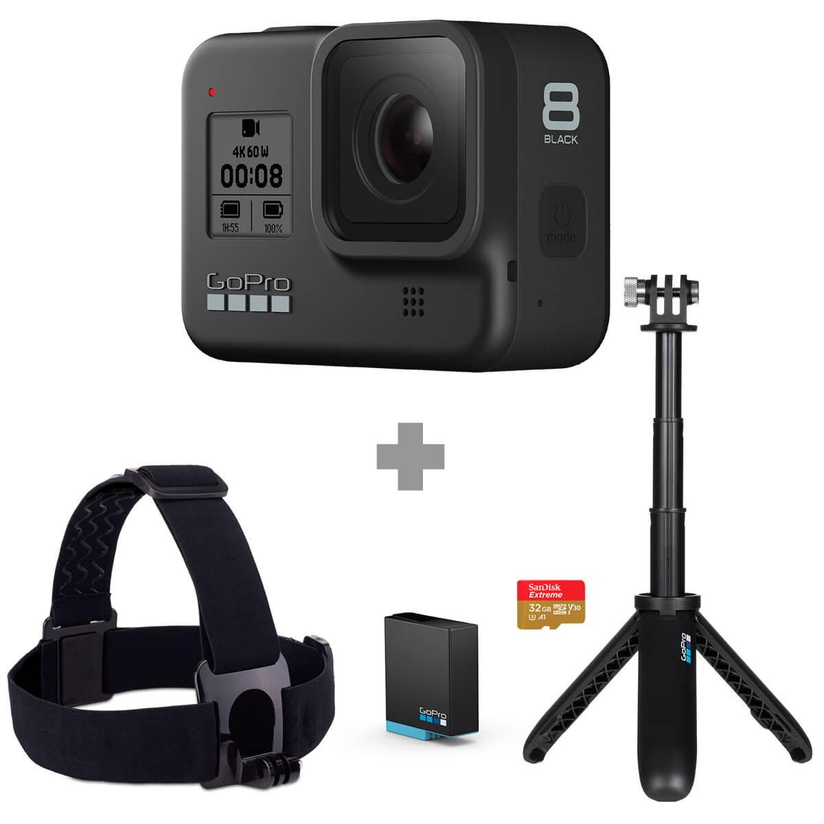 Best Buy: Kit Gopro Hero 8 Black con Banamex y paypal