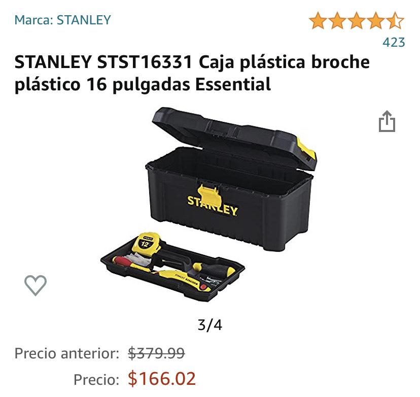 Amazon: caja herramientas stanley excelente precio
