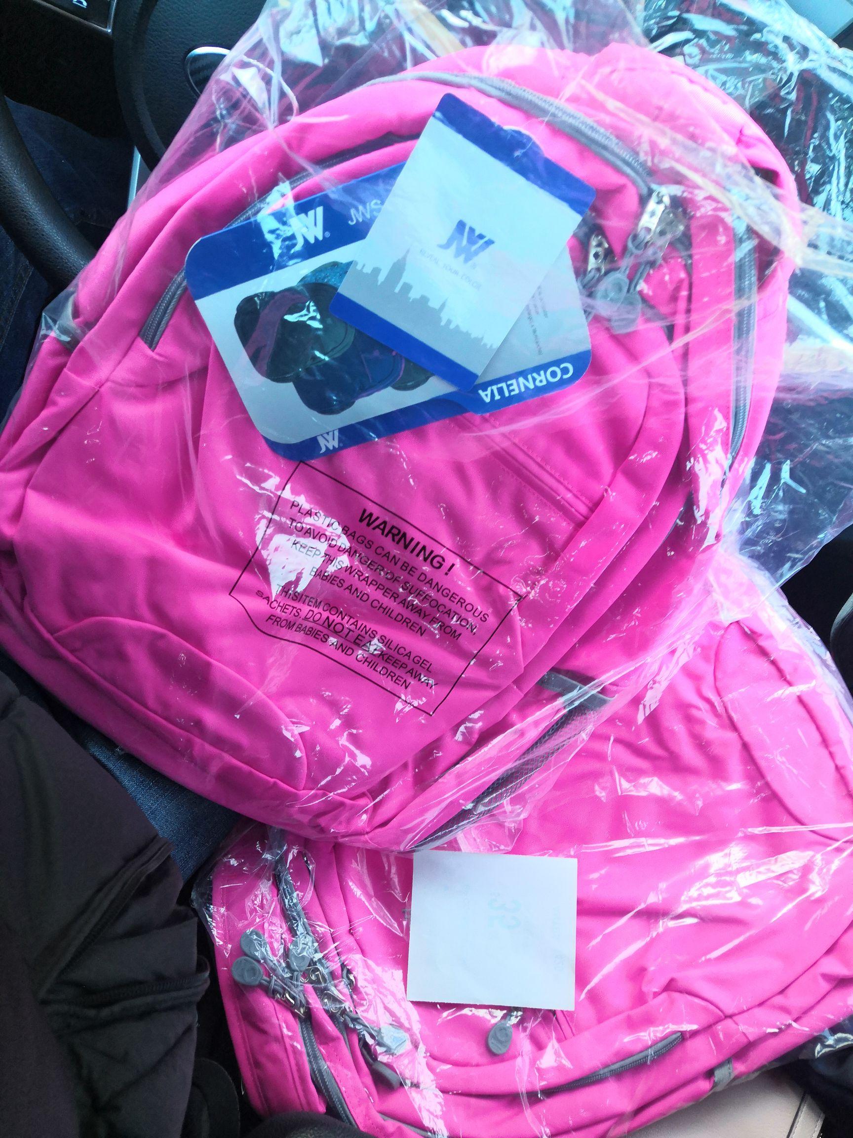 Walmart slp : Mochila rosa