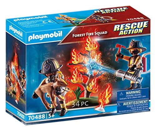 Amazon: Playmobil Equipo de Rescate: Fuego en el Bosque