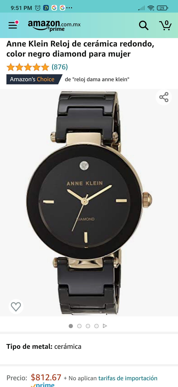 Amazon: Reloj anne klein Cerámica