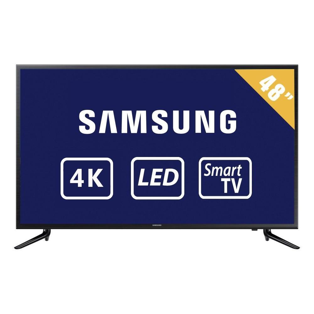 Walmart en línea: TV Samsung 48 Pulgadas 4K Ultra HD Smart TV LED UN48JU6100