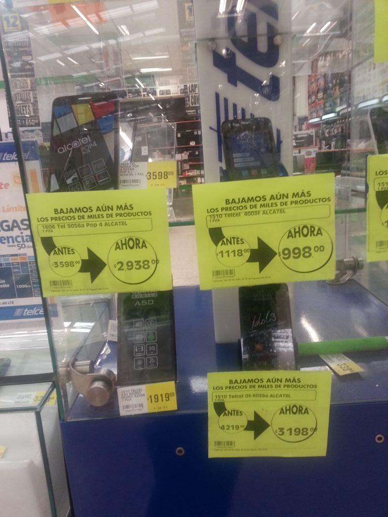 Comercial Mexicana Puebla Plaza San Pedro: descuentos en celulares Telcel