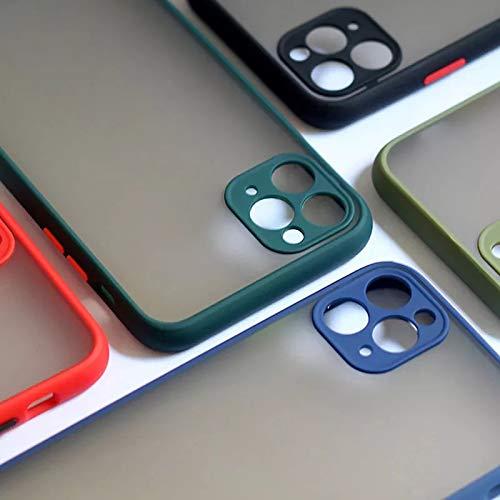 Amazon: Funda para iPhone 11, Protectora de cámara,Matte Clear Back