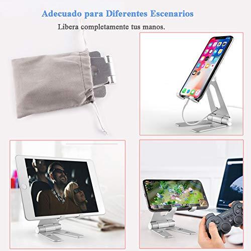 Amazon: Oferta relámpago Soporte de Tablet Multiángulo, Soporte Metálico : Ajustable de 4'' a 10'' para Tablets Celular