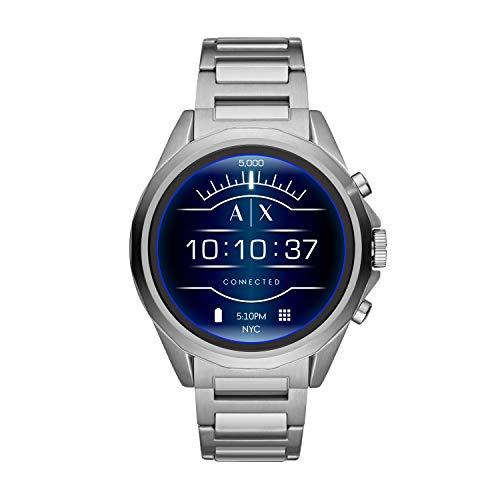 Amazon: Smartwatch Armani Exchange plata