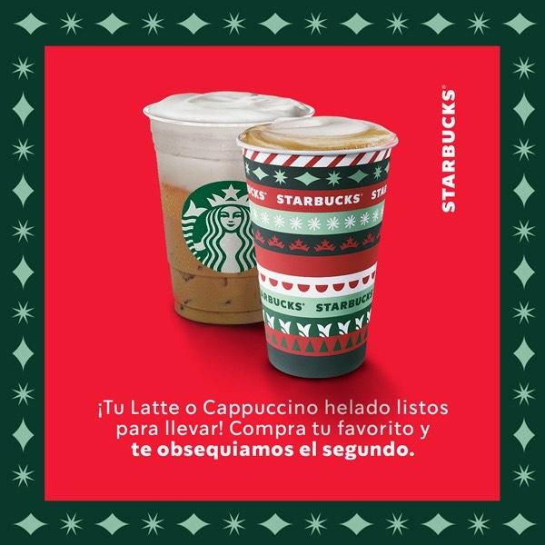 Alsea: 2x1 lattes y capuccinos Starbucks
