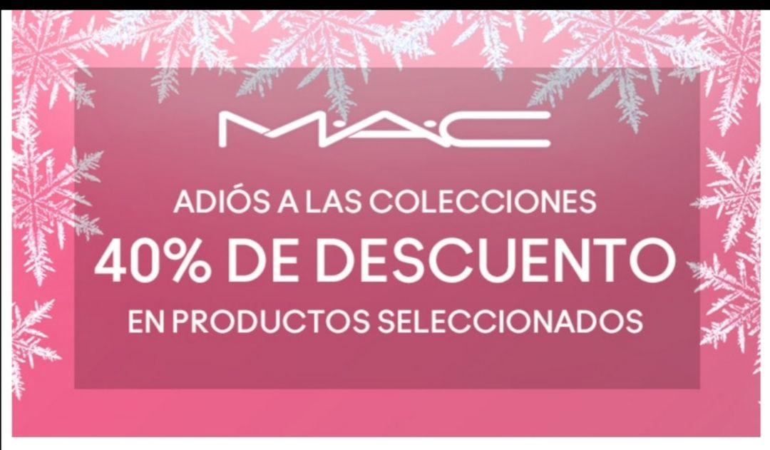 LEGARON LOS GOODBYES CON 40% DE M.A.C.