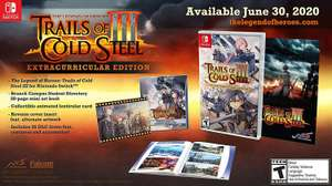 Amazon: The Legend of Heroes: Trails of Cold Steel III - Day-one Edition - Nintendo Switch