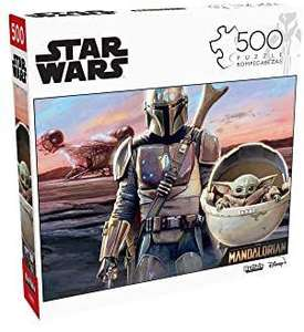 Amazon USA: Rompecabezas Star Wars: The Mandalorian, R2D2 & C3PO y más (Buffalo Games 500 y 1,000 piezas)