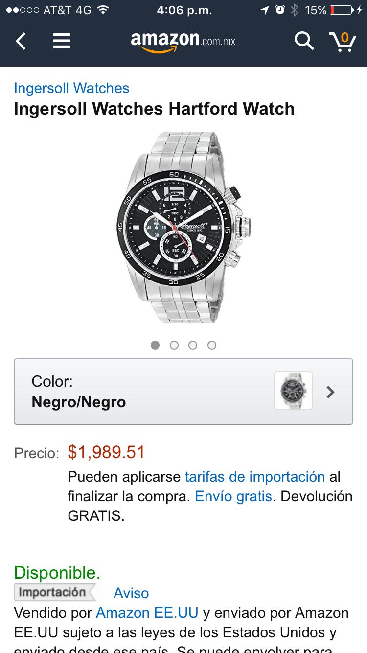 Amazon: Ingersoll Watches Hartford Watch