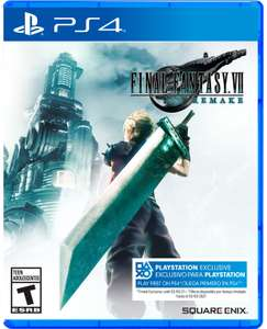 Game Planet: Final Fantasy VII Remake - PS4