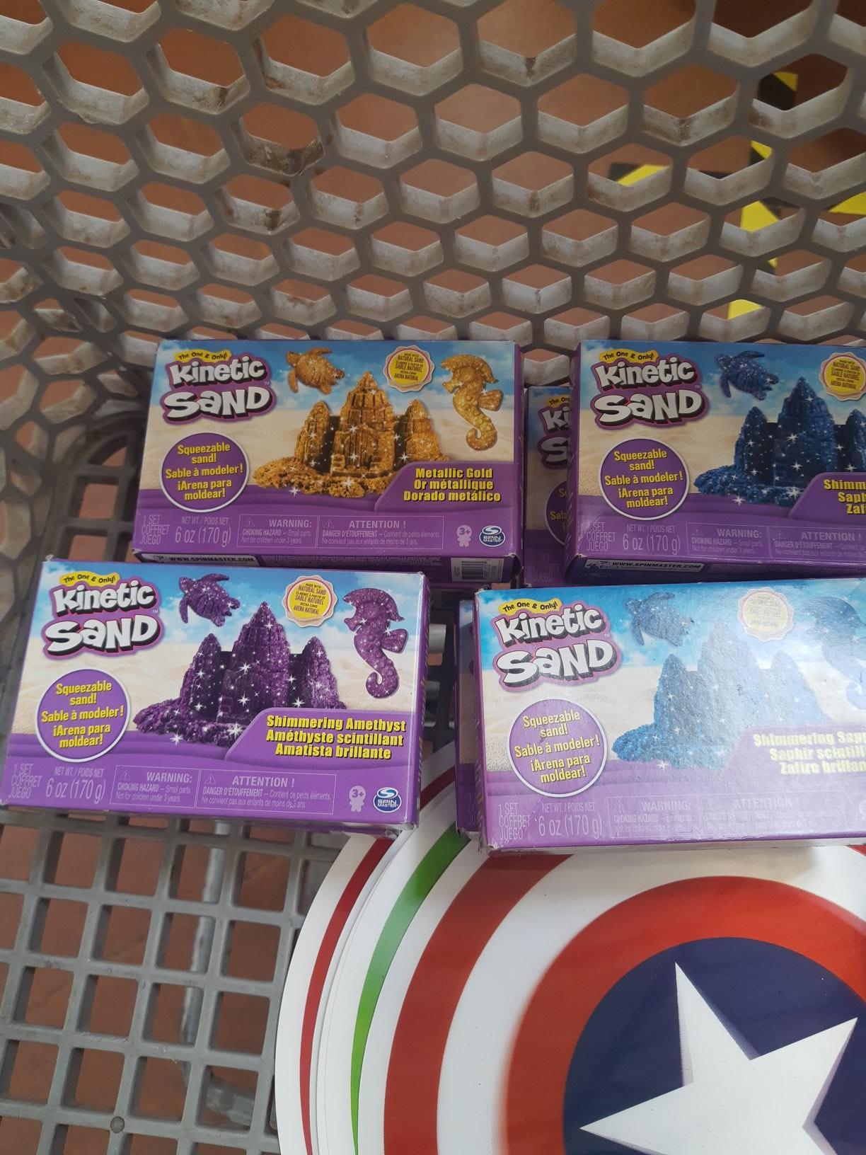 Walmart: kinetic sand y otros artículos