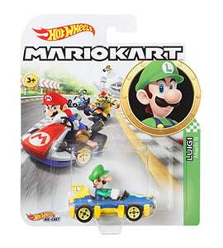 Amazon: Hot Wheels Mario Kart, Luigi
