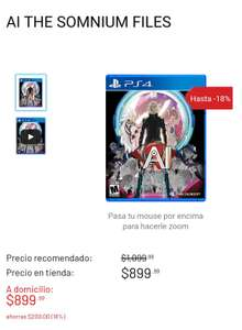 Game Planet: Ai the somnium files PS4