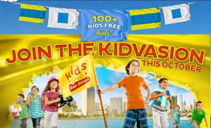 Octubre niños gratis en San Diego: Sea World, LegoLand, restaurantes, trenes y más