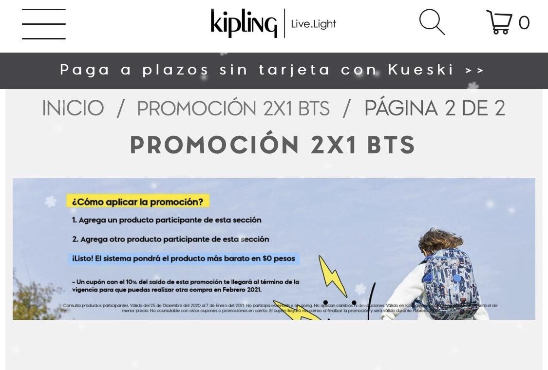 Kipling 2x1 en kids