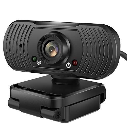 Amazon: Webcam 1080P HD Marca Jecoo con Micrófono USB 2.0 Cámara Web de PC