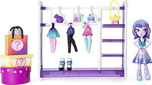 """Amazon: Off The Hook Style Studio, Fashion Fun Playset with 4"""" Small Doll & Fashions & Accessories, For Girls Aged 5 & Up"""