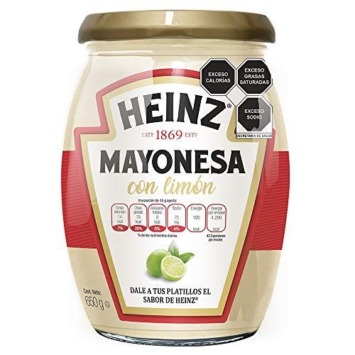 Amazon: Heinz Mayonesa Con Limón, 650 Gramos