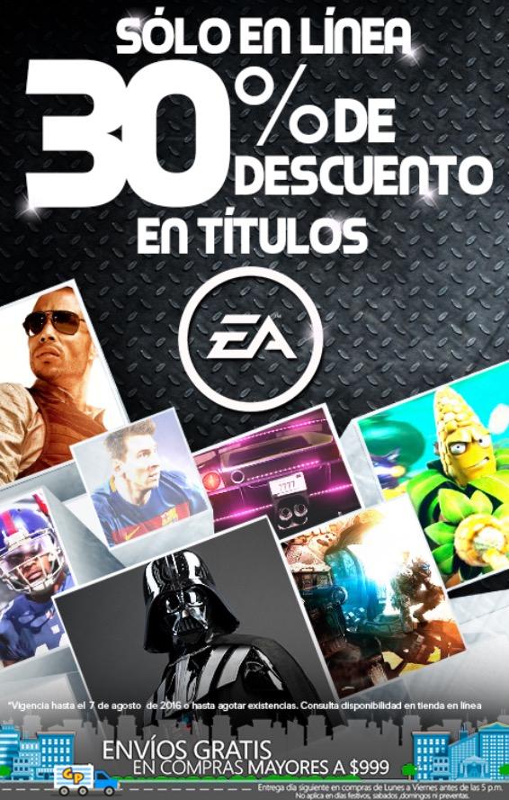 Game Planet: Sólo en línea 30% de descuento en juegos EA